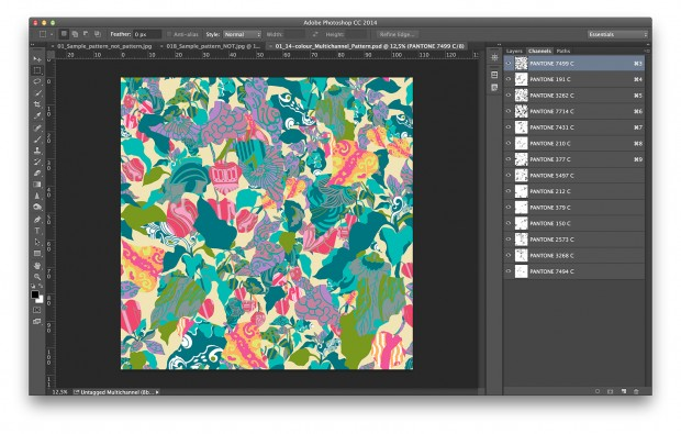 PhotoShop For Textile Designing Training Courses | CADD
